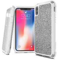 Чехол X-Doria Defense Lux для iPhone Xs Max White glitter